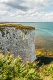 Old Harry Rocks near Bournemouth in South England Stock Photos