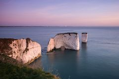 Old Harry rocks Royalty Free Stock Photography