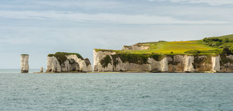 Old Harry Rocks Stock Photo