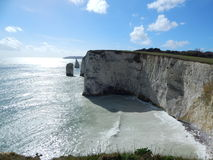 Old Harry Rocks, UK Royalty Free Stock Images