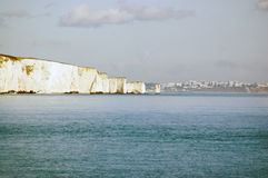 Old Harry's rocks, Swanage, Dorset Royalty Free Stock Photo