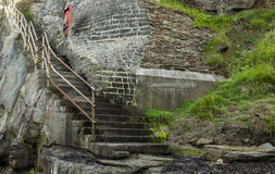Old Hartley steps. Stock Photo