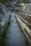 Old Hartley steps. Stock Photos