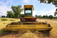 Old harvester Royalty Free Stock Images