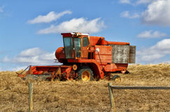 Old harvester Stock Photography