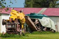 Old Harvester Royalty Free Stock Photography