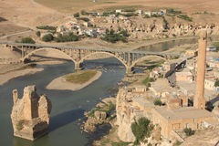 Old Hasankeyf Stock Photography