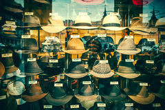 Old hat shop Royalty Free Stock Photo