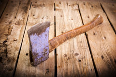 Old Hatchet Stock Images