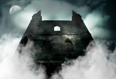 Old Haunted Castle Royalty Free Stock Image