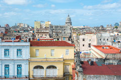 Old Havana on a beautiful summer day Royalty Free Stock Photography