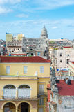Old Havana on a beautiful summer day Stock Photos