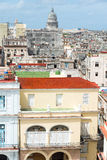 Old Havana on a beautiful summer day Royalty Free Stock Image