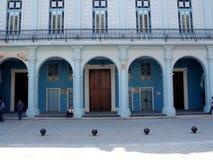 Old Havana building Royalty Free Stock Photos