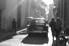 Old havana. The city of Havana in Cuba Stock Photography