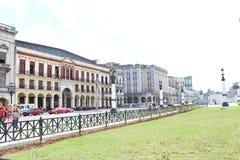 Old havana. Corners of old havana in cuba Royalty Free Stock Image