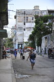 Old Havana in Cuba. Royalty Free Stock Images