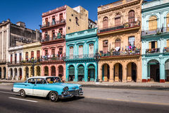 Old Havana downtown Street - Havana, Cuba. Old Havana downtown Street in Havana, Cuba Royalty Free Stock Photo
