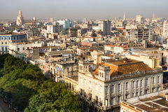 Old Havana from high Royalty Free Stock Images