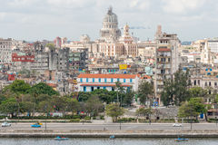 Old Havana including the Capitol building Stock Photo