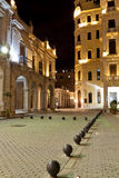 Old Havana at night Royalty Free Stock Photo