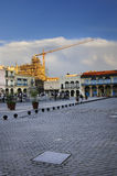 Old Havana plaza Royalty Free Stock Photography