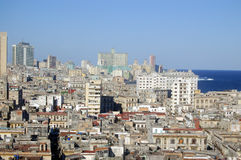 Old Havana, residential houses Stock Photos