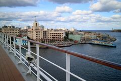 Old Havana view Royalty Free Stock Images