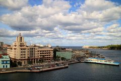Old Havana view Royalty Free Stock Photography