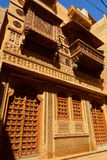 Old haveli in Jaisalmer Fort. Rajasthan. India Stock Photos