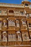 Old haveli in Jaisalmer Fort. Rajasthan. India Royalty Free Stock Photos