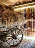 Old hay cart Stock Photos