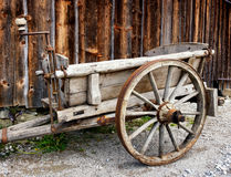 Old hay cart Stock Image