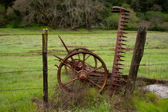 Old Hay Machine Royalty Free Stock Photo