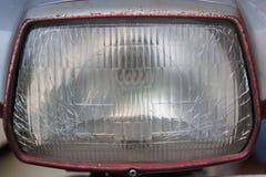 Old headlamp background. Stock Photos