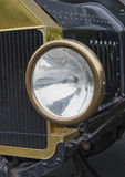 Model A Headlight. Detail shot of a headlight on a vintage Model A Stock Photos