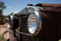 The old Headlight. Old headlight on a Ford Model-T Royalty Free Stock Photos