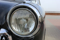 Old headlight Stock Image