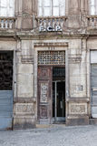 The old headquarters of the world famous soccer team of Futebol Clube do Porto. Porto, Portugal. January 5, 2015: The old headquarters of the world famous soccer Royalty Free Stock Photography