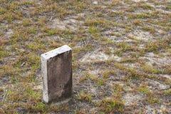 Old headstone Stock Image