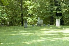 Old Headstones Royalty Free Stock Photography