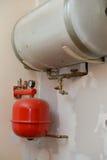 Old heating installation Stock Photos