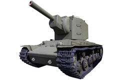 Old heavy assault tank Royalty Free Stock Photography