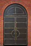 Old heavy metal door Stock Photos