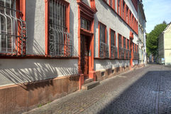 Old Heidelberg Street Royalty Free Stock Photo