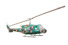 Old helicopter isolate on white Stock Images