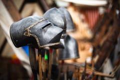 Old helmet Stock Images