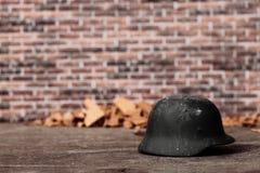 Old helmet Stock Photos