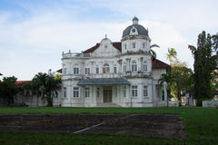Old Heritage British Colonel Building ,George Town, Penang, Mala Stock Photo