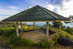 Old Hexagonal Pavilion Royalty Free Stock Images